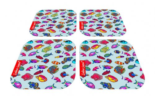 Selina-Jayne Tropical Fish Limited Edition Designer Coaster Gift Set